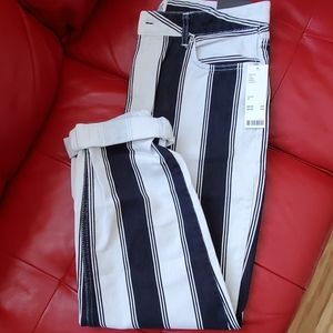 Urban Outfitters BDG striped mom jeans